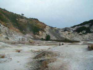 Il cratere vulcanico