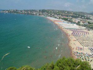 La spiaggia di Serapo